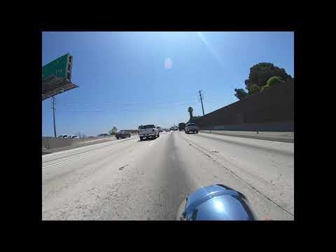 2019 Honda Shadow Aero VT750 first freeway ride