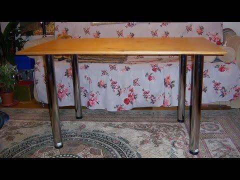 видео: Как сделать стол своими руками
