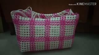 How to make Lunch bag wire  koodai part 2