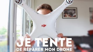 Je tente DE RÉPARER mon drone NOYÉ - DJI Phantom 3 Standard