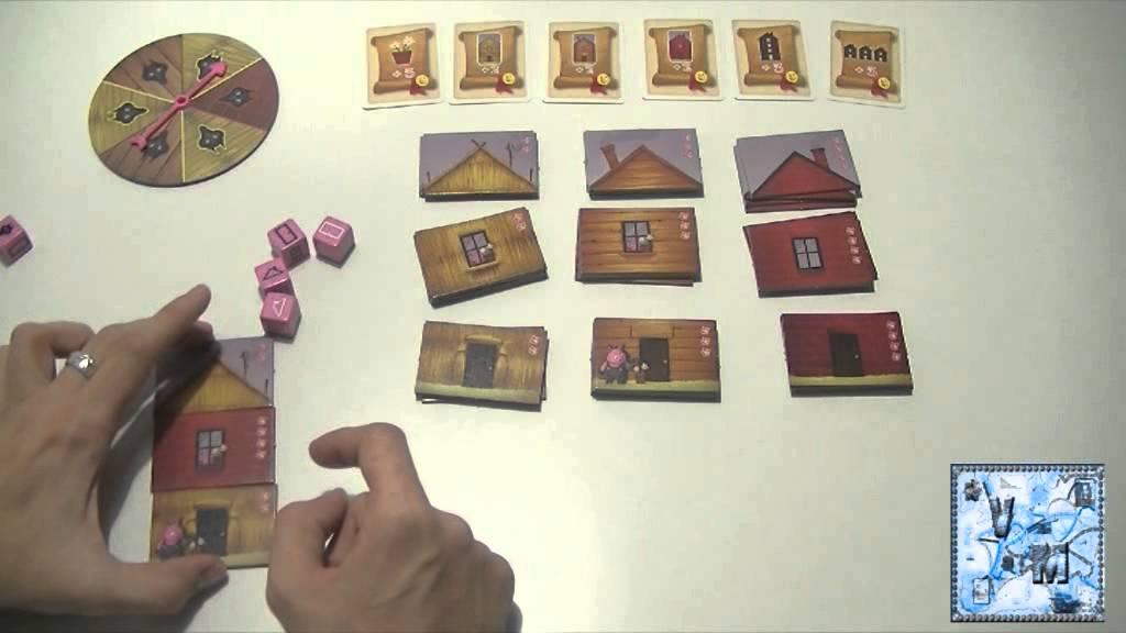 Los tres cerditos juego de mesa rese a aprende a jugar for Viciados de mesa