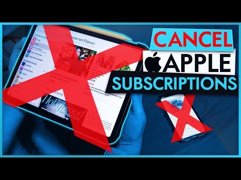 EASIEST METHOD To Cancel Apple News Plus & Subscription Services on iPhone or iPad