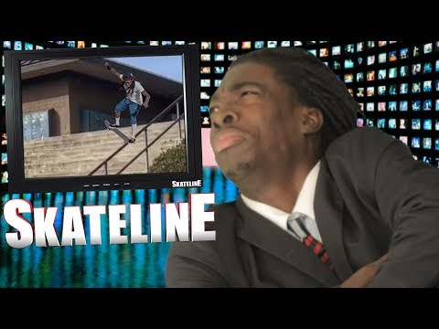 SKATELINE - Nyjah Huston, New Brent Atchley Part, Forrest Edwards, Frog Skateboards