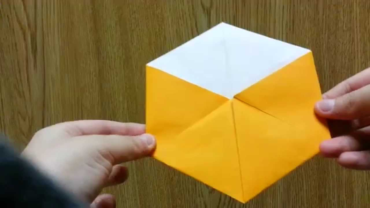 Origami Magical Transforming Octahedron, Designed By ... - photo#25