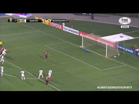 DEFESA DE PÊNALTI DE VANDERLEI | Santos x Independiente-ARG | Conmebol Libertadores 2018