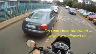 High Speed Stolen Car Chase with Motorbike & Police - DAKAR clip 1