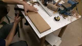Woodworking - Making The Box Lid Medallion