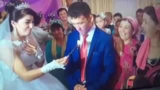 Торт на свадьбе (Злой Парень). Прикол.