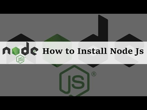How to Install Node JS in Windows 10 - YouTube