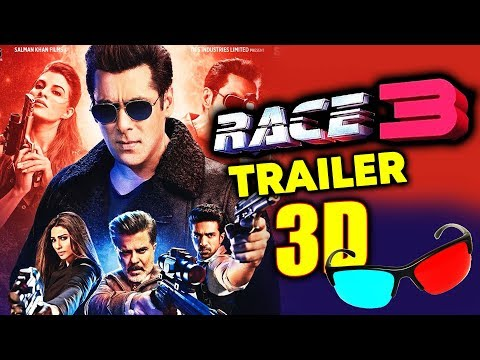 RACE 3 TRAILER IN 3D | BIG NEWS | Salman Khan, Jacqueline