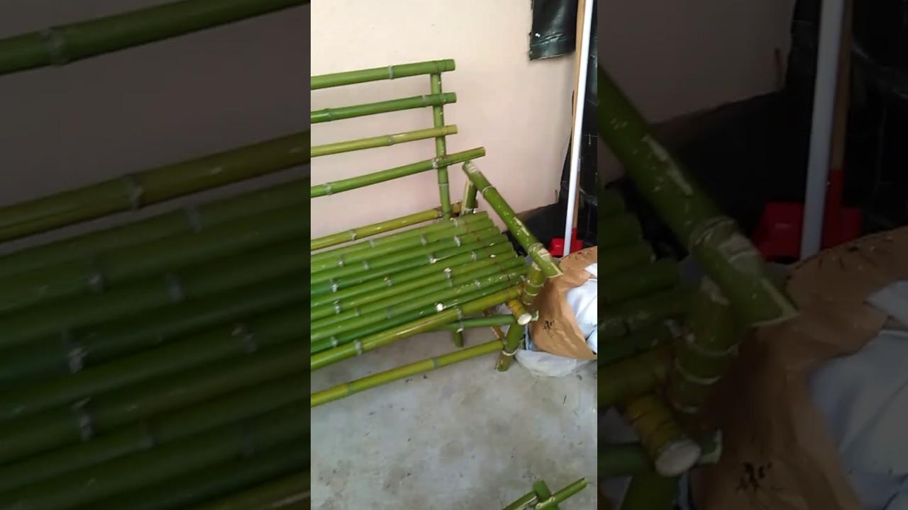 Banc Bambou Maison Youtube
