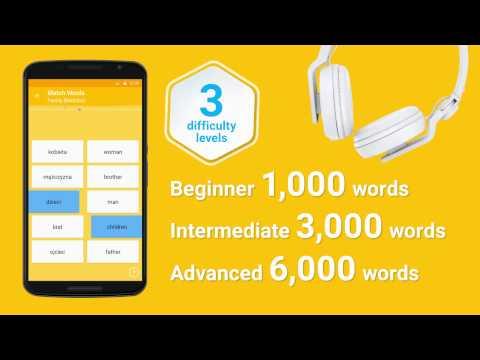 Learn Polish Vocabulary – 6,000 Words 1