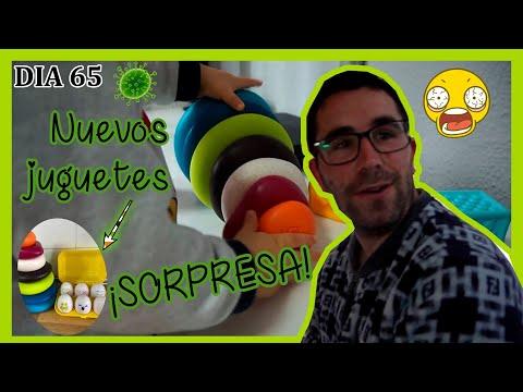 dÍa-65🦠nuevos-juguetes-para-mi-bebe-👶🏻receta-en-directo-🍴y-una-sorpresa-para-mi-marido🤪16-05-20