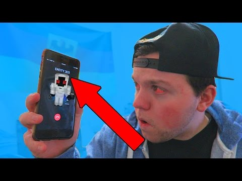 CALLING ENTITY 303 on Minecraft Pocket Edition at 3:00 AM!!! HE ANSWERED?! OMG!