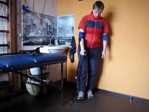 Как правильно ходить с тростью после операции на правую ногу видео