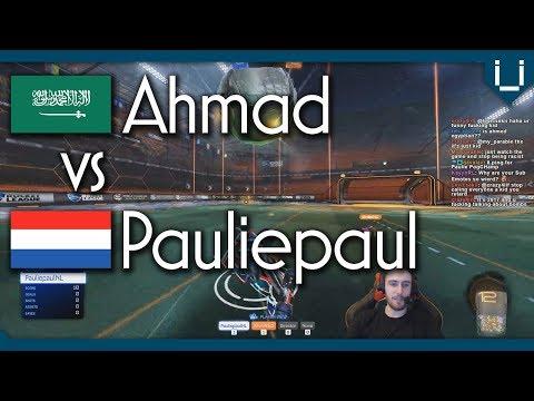 Ahmad (Rank 1 Middle East) vs Pauliepaul