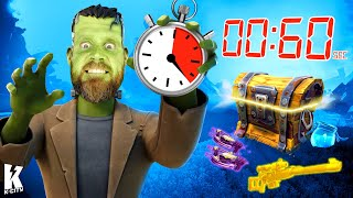 60 Seconds to Loot in FORTNITE Challenge! K-CITY GAMING