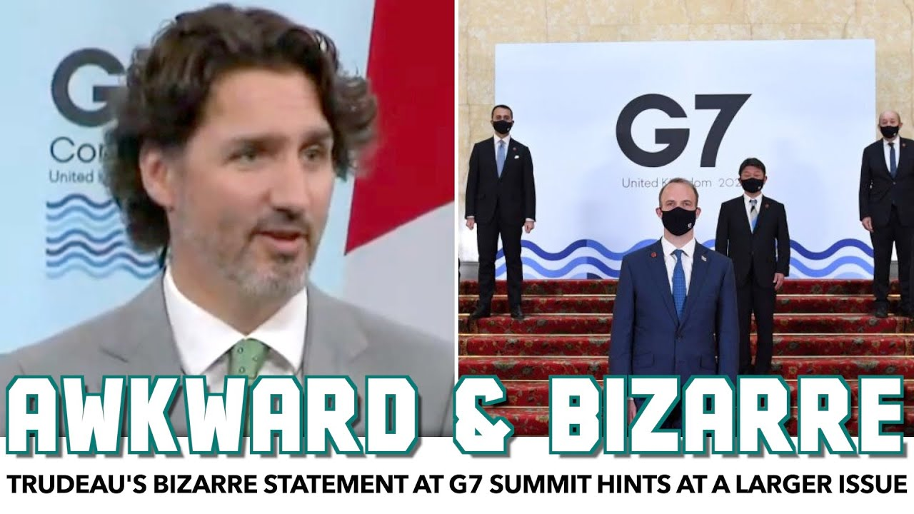 """Trudeau's Bizarre G7 Statement Hints At The Emptiness Of Their """"Big"""" Announcement"""