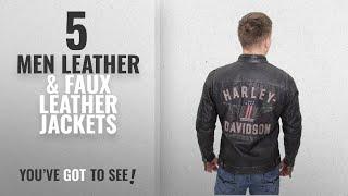 Harley-Davidson Leather & Faux Leather Jackets [Winter 2018 ]: Barnett Harley-Davidson