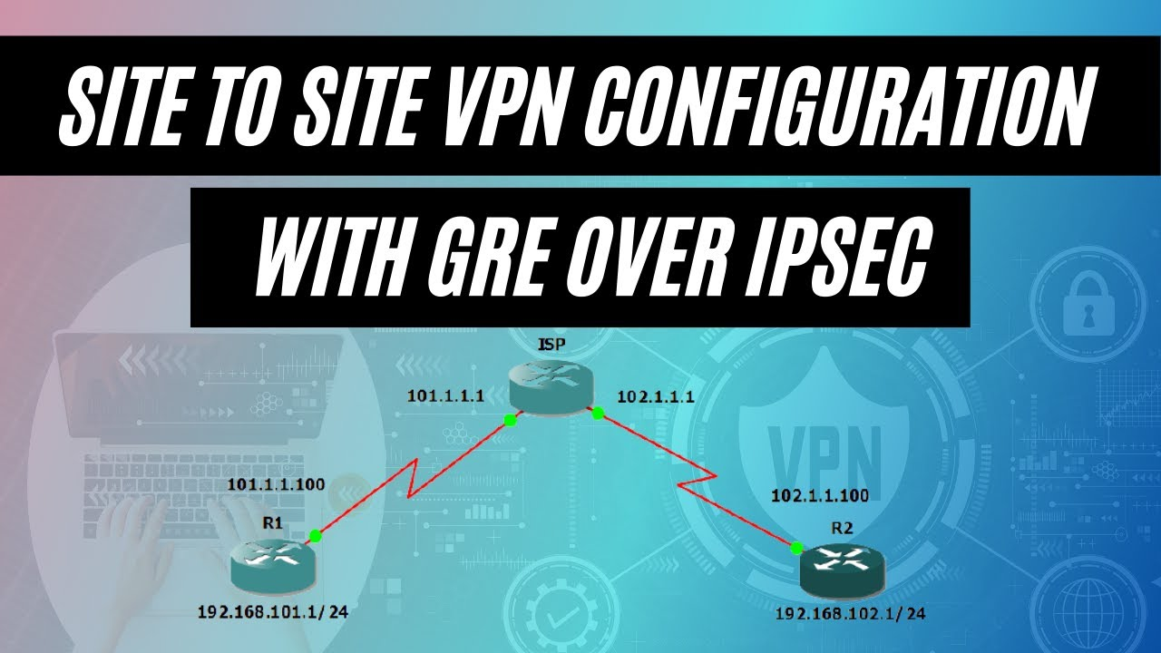Site to Site VPN Configuration with GRE Over IPSec