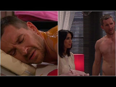 Emmerdale - An awkward couples' massage (HD)