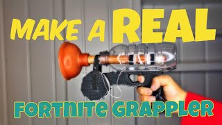 DIY Real Fortnite Grapple Gun!