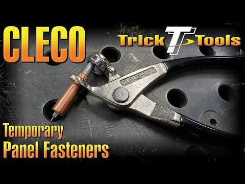 Cleco Temporary Rivet And Panel Holders - Trick-Tools.com