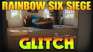 Rainbow Six Siege New Invisible/Invincible Barricades Glitch!