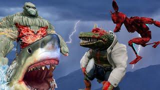 GTA 5 - Tổng hợp phim hậu quả tác hại của con người - Sự giận dữ của thiên nhiên | GHTG