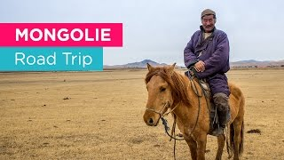 Road trip in Mongolia