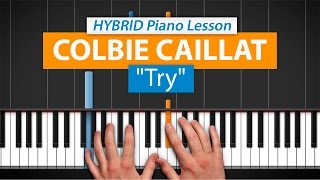 """How To Play """"Try"""" by Colbie Caillat 