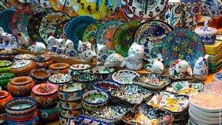 Базар в Кемере, Турция. Покупки, шоппинг, турецкие улицы, сладости, барабаны(, 2016-07-31T15:19:26.000Z)