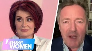 Gambar cover Sharon Osbourne Receives a Special Message From Piers Morgan   Loose Women