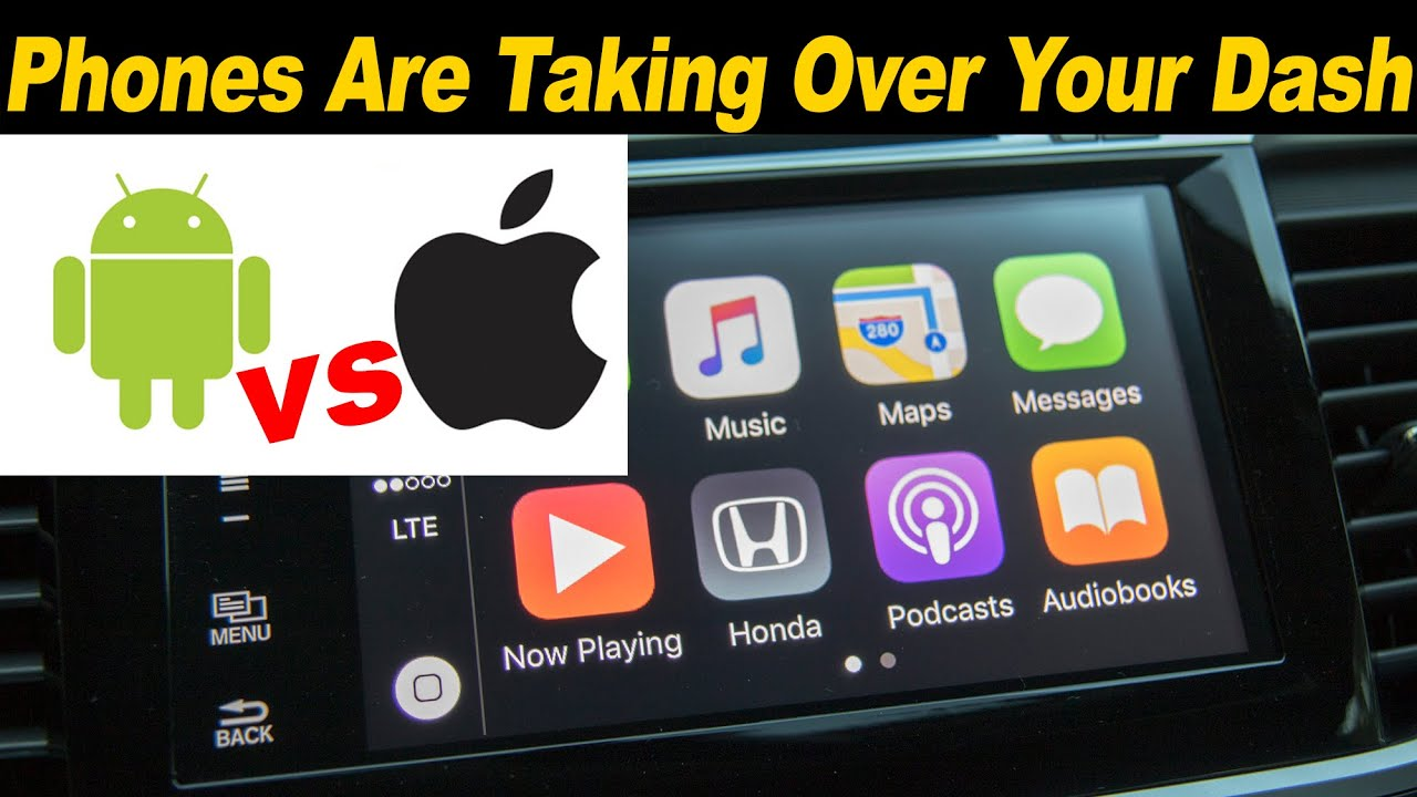 Connectivity features include apple carplay and android auto - Android Auto Vs Apple Carplay 2016 Honda Accord 2016 Kia Optima