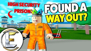 Found A Way OUT OF A High Security Prison? - Roblox MAD CITY (Robbed A All Access Security Key Card)