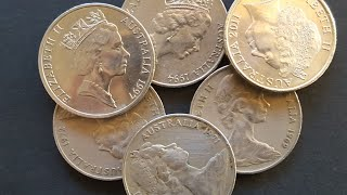 Some low mintage 20 cent coins worth cash