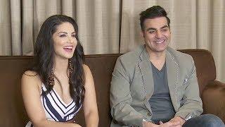 Sunny Leone And Arbaaz Khan Full FUNNY Interview   Tera Intezaar Movie 2017