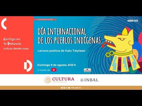 #DiaPueblosIndigenas / Kalu Tatyisavi / Coordinación Nacional de Literatura / INBAL