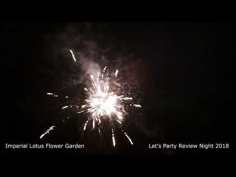 Lets Party Review Night Imperial Lotus Flower Garden Youtube