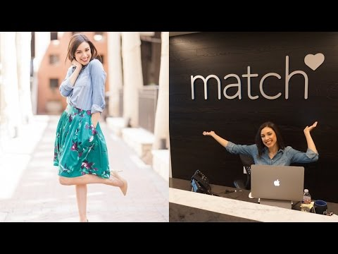 VLOG | BTS at Match.com, tips for online dating, see my profile!