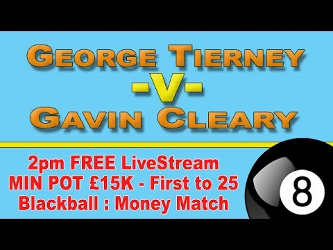George Tierney V Gavin Cleary - MM: £17.6K Blackball, Dublin