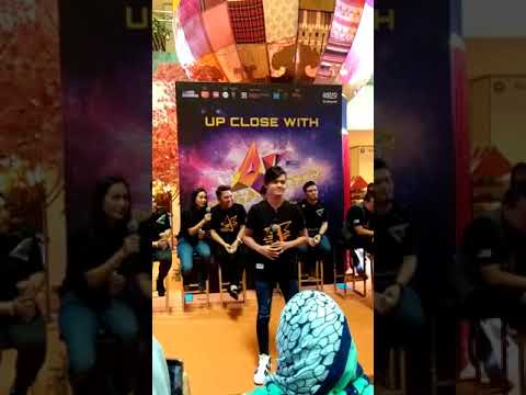 Waktu - Amir ( live af megastar meet & greet)