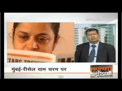 The Property Show NDTV   Discussion on Resale Property, Paresh Karia   Director LuxuryHomesIndia