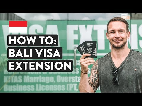 BALI VISA EXTENSION GUIDE | VOA Free Vs Paid | Indonesia Immigration