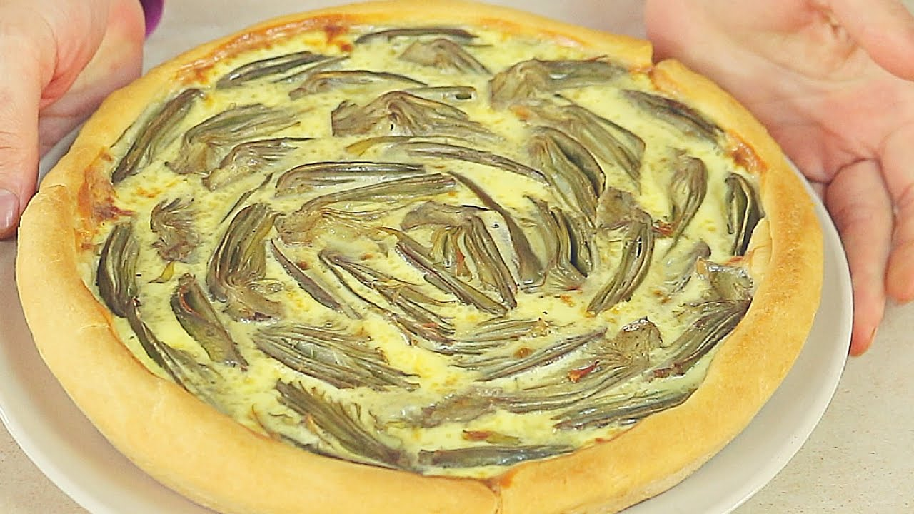 Crostata Di Carciofi Ricetta Facile Artichoke Pie Easy Recipe