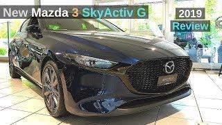 Neuen Mazda 3 SkyActiv G 2019 Review Interior Exterior