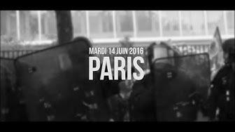 Paris - 14 juin 2016 - Manifestation contre la loi Travail
