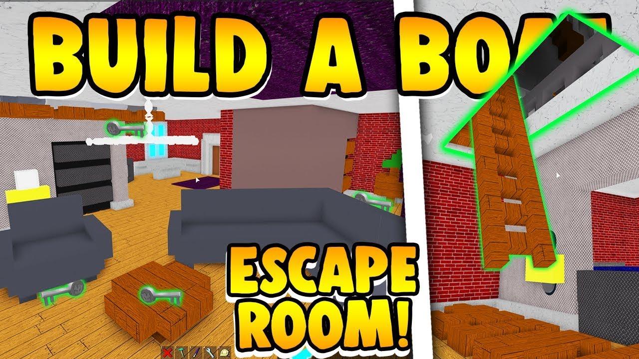 Build A Boat Escape Room Youtube