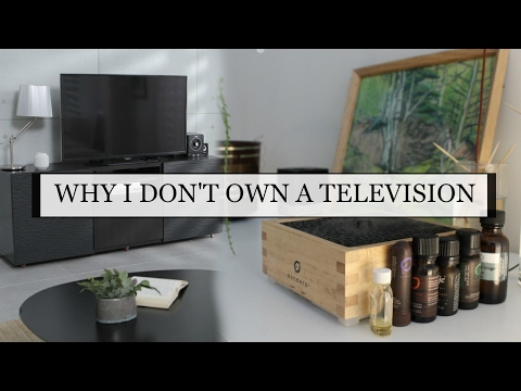 THERE'S NO TELEVISION IN MY LIVING ROOM? | MINIMALISM MENTALITY