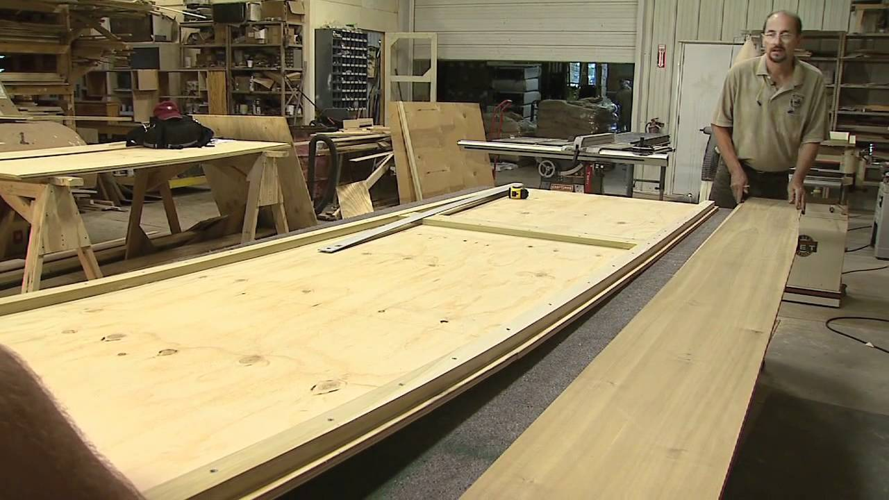 How to Build a Wooden Flat Bottomed Boat - YouTube